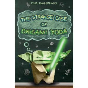 Interview with Origami Yoda author Tom Angleberger - and AN ORIGINAL ILLUSTRATION GIVEAWAY!!