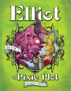 Elliot and the Pixie Plot - Interview and Giveaway