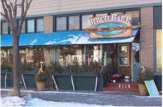 birchbark storefront