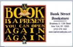 Bank Street Book Card