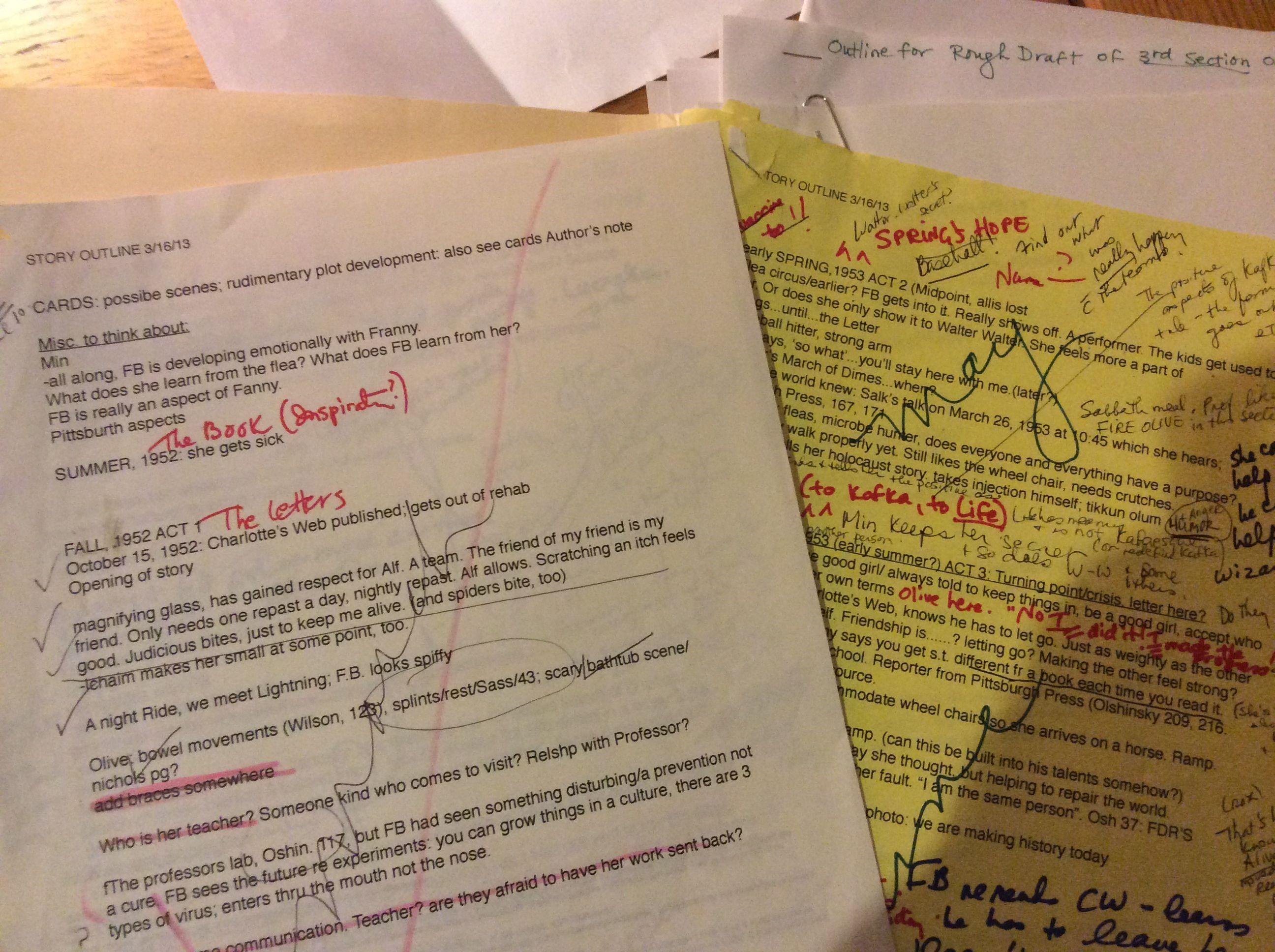 How I Write A Middle-Grade Novel