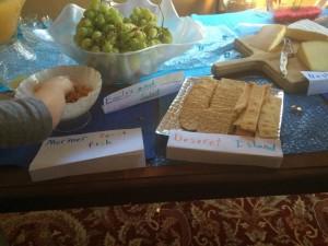book club snacks