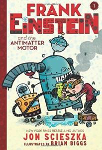 Frank Einstein Book One Cover