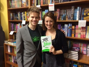 Oblong author event with Andrew Keenan-Bolger & Kate Wetherhead of Jack & Louisa