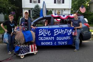 Blue Bunny car