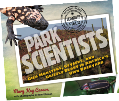 Winner of Mary Kay Carson's  Park Scientists Book!