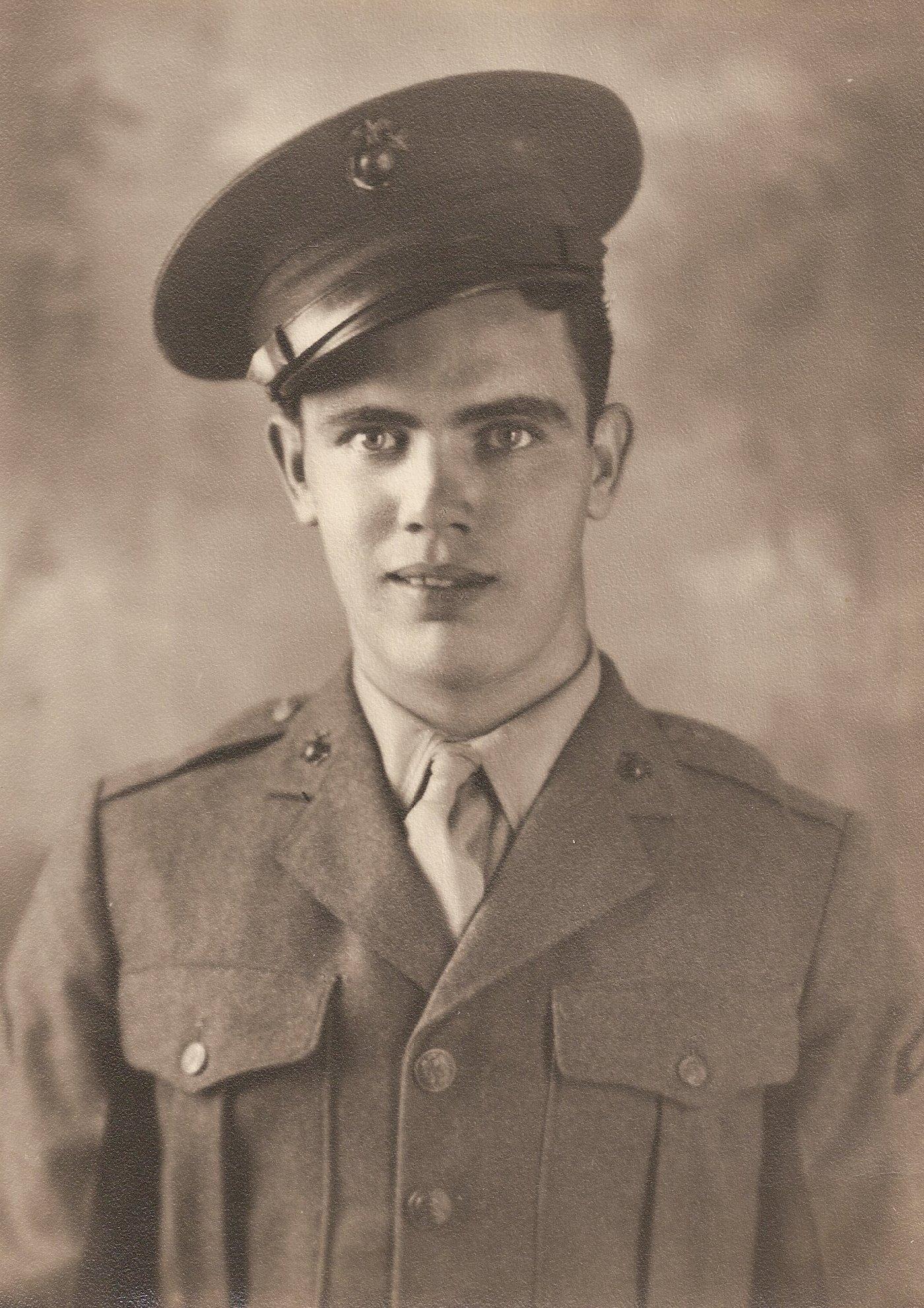 1943 US Marine-WWII Veteran