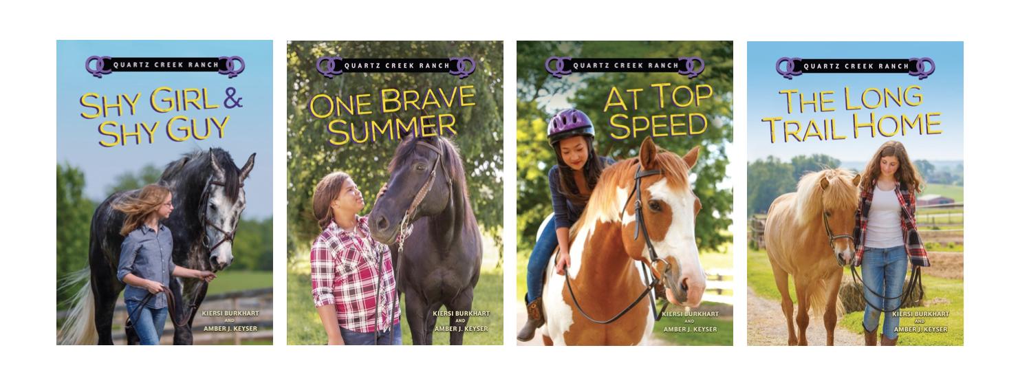 Happy Book Birthday to the Quartz Creek Ranch series