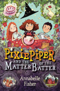 Interview & Giveaway - Pixie Piper author Annabelle Fisher