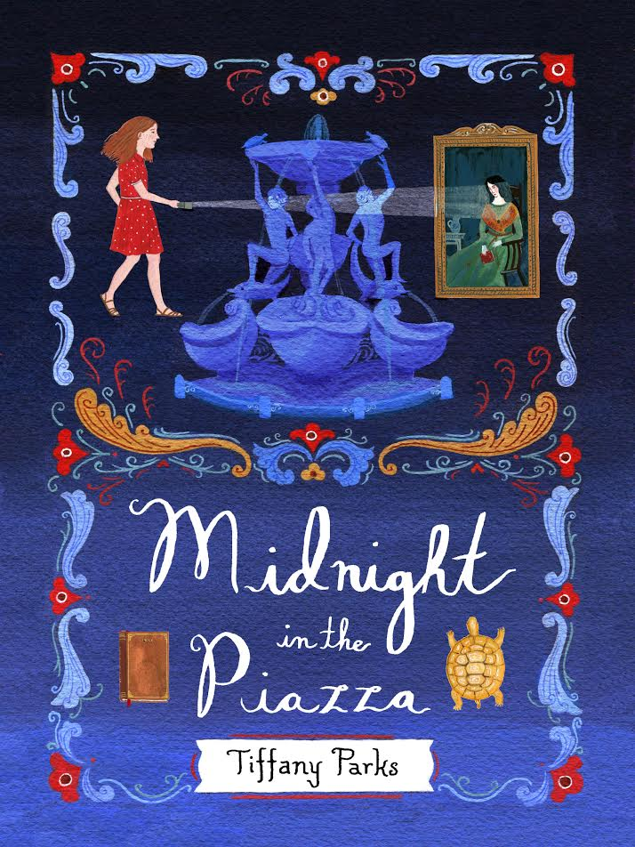 Midnight in the Piazza--Interview and Giveaway
