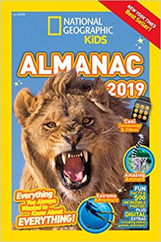 9 Wacky Facts from the National Geographic Kids Almanac 2019