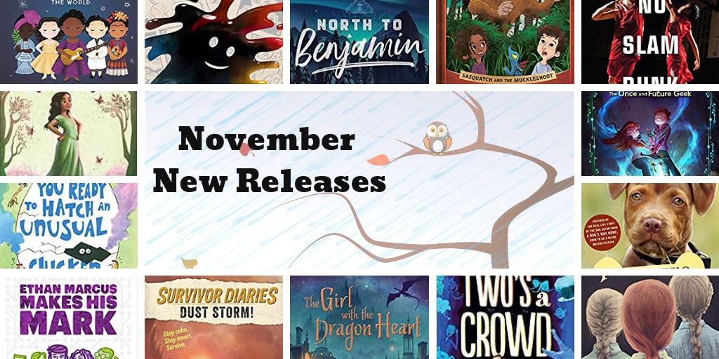 November New Releases!